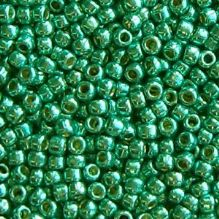 Toho 11/0 Seed Beads Permanent Finish Galvanised Teal PF569 - 10 grams